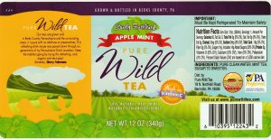 pure wild tea barely sweetened apple mint